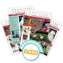 La revue archives et culture - Abn 2 ans