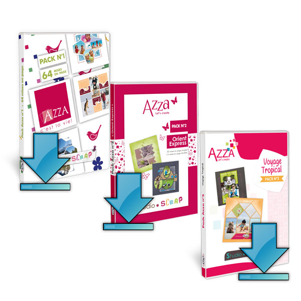 Soldes - offre - 3 -packs - azza