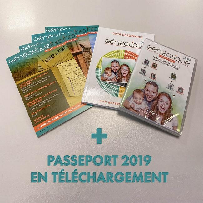 Lot spécial Généatique 2019
