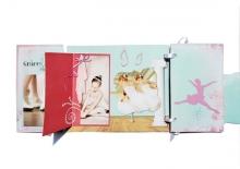Mini-album « Lever de rideau » - 05 - Les pages 5