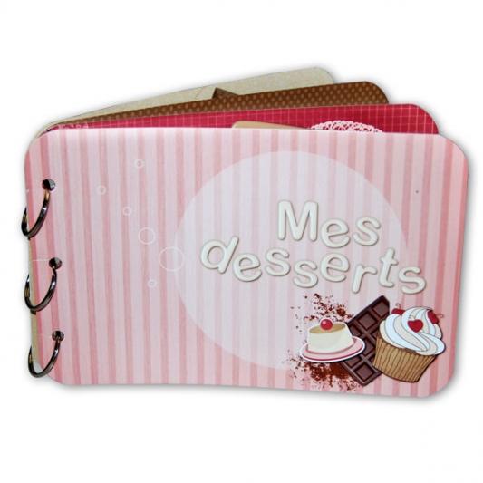 Mini-album « Mes desserts » - 00 - Présentation
