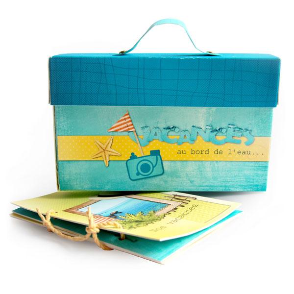 Mini-album « Vacances au bord de l eau » - 00 - Présentation
