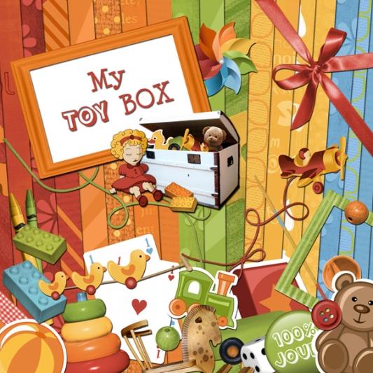 « My toy box » digital kit - 00 - Presentation