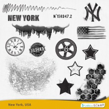 New-York USA masques1
