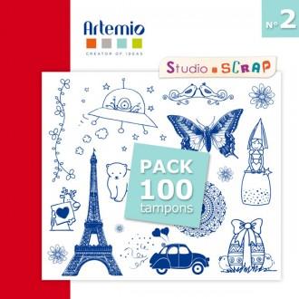 pack-100-tampons-artemio-2-patchwork