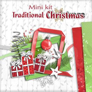 """Mini kit """"Traditional Christmas"""" - 00 - Presentation"""