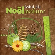 Mini-kit « Noel Nature » - 00 - Présentation