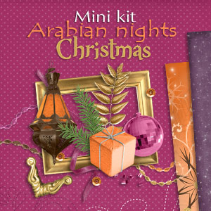 "Mini kit ""Arabian nights Christmas"" - 00 - Presentation"