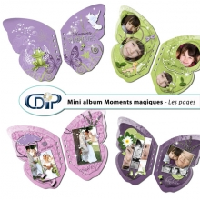 Mini-album « Moment magique » - 01 - Les pages