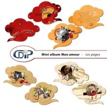 Mini-album « Mon amour » - 01 - Les pages
