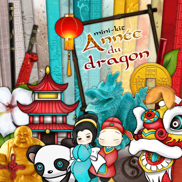Mini-kit - Année du dragon - 00 - Présentation