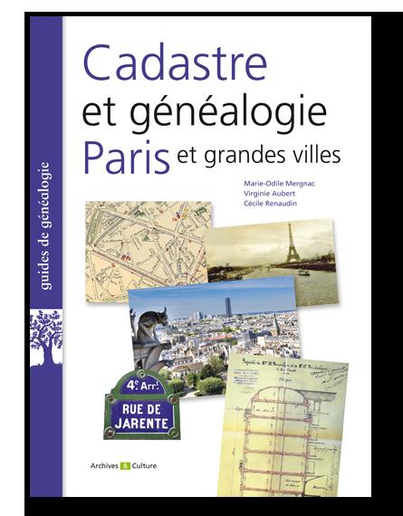 Livre Cadastre et généalogie Paris et grandes villes