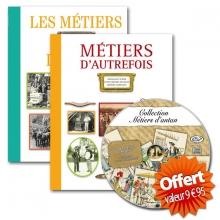 """Livre """"Les Métiers d'antan"""" + livre """"Métiers d'autrefois"""" + la """"Collection métiers d'antan"""""""
