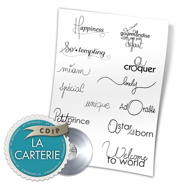 Carterie collection Jardin des delices - 02 - Presentation