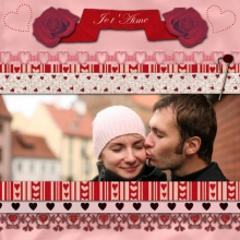 Mini-kit - Saint valentin 2009 - 06 - Composition