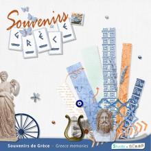 Kit « Souvenirs de Grèce » en téléchargement
