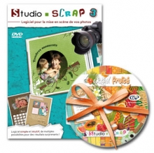 SS3 - 01 - Studio-Scrap 3 en téléchargement + 1 kit offert