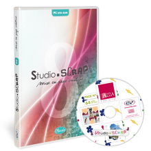Studio-Scrap 8 + Pack Azza 1 - en coffret