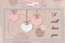 « Love cards » card templates - 52 - Composition