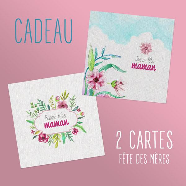 2 Cartes Fête Des Mères Gratuites Cdip Boutique Logiciel