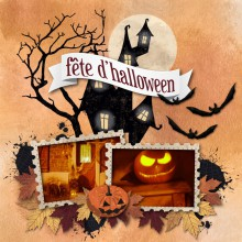 kit Nuit d'Halloween Citrouille party