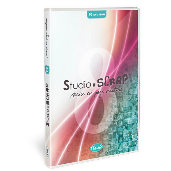 Studio-Scrap 8 Classic en coffret