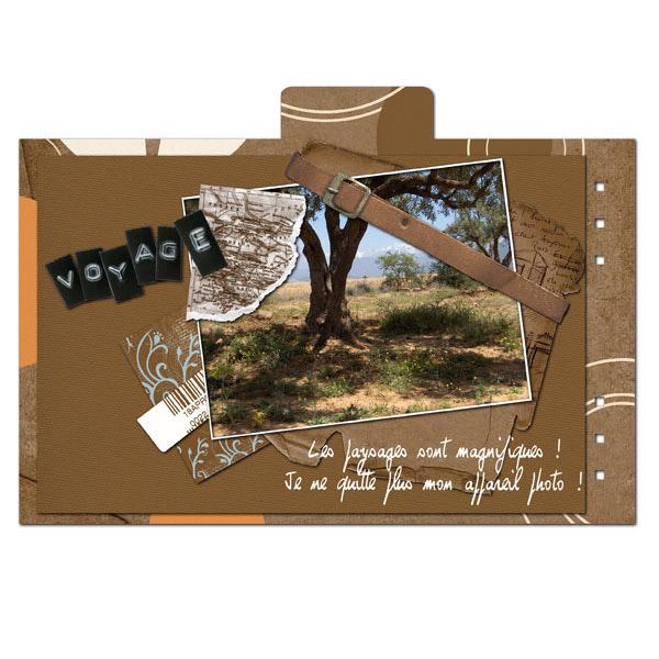 Préférence Mini-album « Carnet de voyage » en téléchargement | CDIP Boutique  SE16