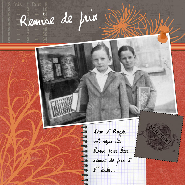 Le blog de Sandy  scrapbooking