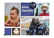 une famille rock and roll