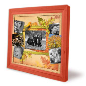 collage frame Daydreaming of Fall